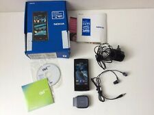 Nokia X6 Negro Móvil Smartphone en caja completa Police 16gb T Mobile