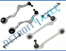 New 6pc: Front Lower Forward & Rearward Control Arms Ball Joint & Sway Bar Links