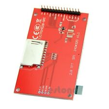 "2.8"" 240x320 SPI TFT LCD Serial Port Module PCB Adapter Micro SD ILI9341 5V/3.3V"