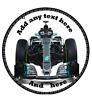 "7.5"" 6.5"" 6"" 5.5"" Formula one f1 cake tops topper edible wafer icing sheet"