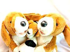 Build-A-Bear Stuffed Plush Babw Set Mom Dad Baby Family Beagle Puppy Dog Plush