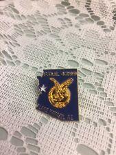 Vintage Eagles FOE 4299 Lake Havasu, Az Blue Enamel/Gold-Tone Metal Pin Pinback
