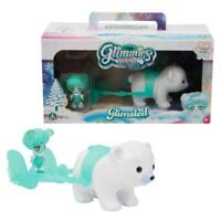GLIMMIES POLARIS GLIMSLED MAGICAL POLAR BEAR FIGURE SLED PLAY SET