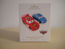 Cars Lightning McQueen and Sally Hallmark 2007 Ornament Disney/Pixar's Cars