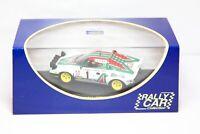 Rally Car Collection Lancia Stratos Rallye Monte Carlo 1977 - Mint Boxed 1:43