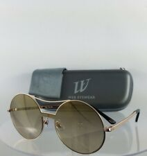 Brand New Authentic Web Sunglasses WE 0211 Col. 28G Gold 128mm Frame 211