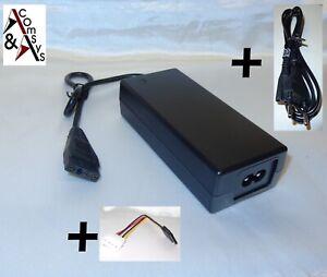 Netzteil 12V 5V 2A für externe IDE u. SATA Festplatte Harddisk CD DVD Laufwerk