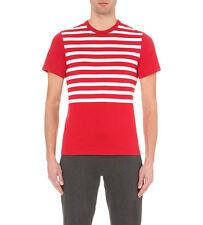 Barbour junta a Rayas de Algodón Camiseta-Jersey-a estrenar con las etiquetas