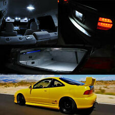 94-01 Integra DC2 2Dr White LED Bulb Full Package Map Dome Trunk License Plate