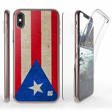 For iPhone X Full Coverage Front Back Protector Case Puerto Rico