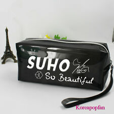 EXO LOVE ME RIGHT SUHO pencil case makeup-bag KPOP New