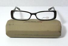 JUNCTION CITY Prescription Eyeglasses Audubon Park Brown Laminate Frame 54-15mm