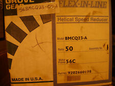 GROVE FLEXALINE REDUCER BMCQ23-A-50:1 POS 1 56C