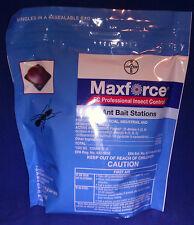 96 Maxforce FC Ant Bait Stations Control Acrobat, Argentine, Pharaoh ( 4 Bags )