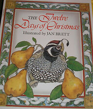 The Twelve Days of Christmas (Brand New Paperback Version) Jan Brett