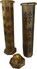 PORTAINCENSO porta oggetti brucia incenso india feng shui incensi arte orientale