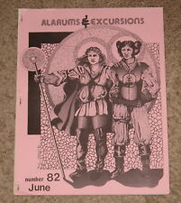 Alarums & Excursions #82 1982 D&D RPG APA Adventure Gaming Magazine