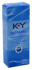 2 Pack KY Jelly UltraGel Personal Lubricant Unique Water Based gel 1.5 Oz Each