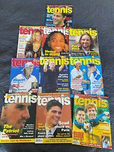 AUSTRALIAN TENNIS  MAGAZINE 2000  Bulk Lot - Posters included