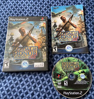 PS2 - Medal of Honor: Rising Sun - Black Label - Complete CIB w/ Manual - Tested