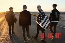FALL OUT BOY - GROUP MUSIC POSTER - 24x36 BAND FLAG 3260