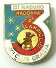 Spilla III Raduno Sci Club Grazia Madonna Di Campiglio