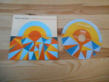 CD Indie Sola Rosa - Low And Behold, High And Beyond (11 Song) Promo AGOGO