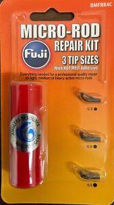 Fuji Micro Guide Rod Tip Repair Kit, BMFRK4C - Dark Gray