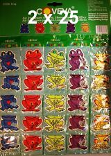 50 X FROG HANGING CAR VALET AIR FRESHENER SCENTED ASSORTED LIME SPICE VANILLA