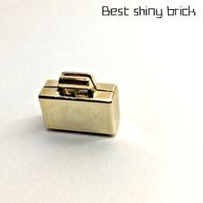 Lego Chrome Gold Suitcase Bank Money 4449 *New*