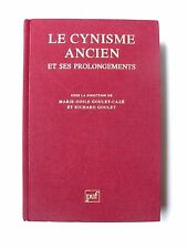LE CYNISME ANCIEN & SES PROLONGEMENTS / ACTES DU COLOQUE DU CNRS / PUF / 1993