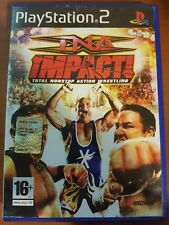 TNA IMPACT! TOTAL NONSTOP ACTION WRESTLING - PLAYSTATION 2 PS2 USATO