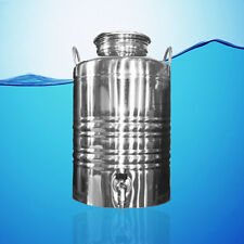 SUPERFUSTINOX STAINLESS STEEL WATER DISPENSER FUSTI 10 LITER  2.64 GAL + GIFT **