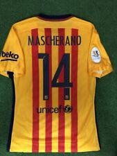 Mascherano Barcelona Prepared For Match Shirt Final Super Copa 2015