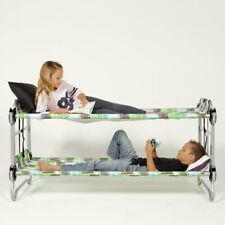 Kid-O-Bunk Childrens Moblie Bunk Bed Single Cot System Holiday Travel Camping