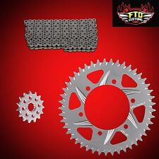 2000 GSXR 750 OEM Size Replacement Chain and sprockets  Factory Sizes