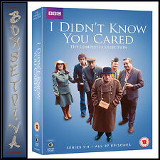 I DIDN'T KNOW YOU CARED - THE COMPLETE COLLECTION - SERIES 1 -4 *BRAND NEW DVD *