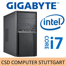 AUFRÜST PC: INTEL CORE i7 9700 8x 4,7GHz ACHTKERN COFFEE LAKE 16GB DDR4 USB3.1