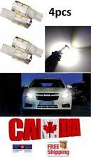 4pcs T10 194 168 10SMD 5630 White 6000k LED Projector Reverse DRL Light Bulb Car