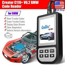 C110+ OBD2 Car Fault Code Reader Engine Diagnostic Scanner Reset Tool For BMW
