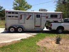 4-Star Gooseneck Trailer - 2 horse, straight load