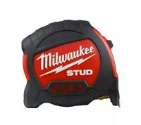 Milwaukee 25' Stud Tape Measure Strong Heavy Duty Tough Measuring Tape Brand NEW