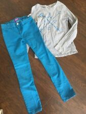 Old Navy Rockstar Jeggings and T-Shirt - Size 10/12 - Super Cute!!!!!