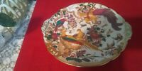 OLDE AVESBURY Royal Crown Derby CAKE PLATE with HANDLES rare