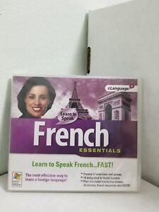 eLanguage - Learn to Speak French Essentials_Brand New