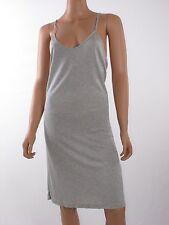 Haute Hoodie Light Heather Grey Sleeveless Racer Back Mini Dress size  S