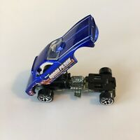 1969 HOT WHEELS Vantage-1/64 Diecast Blue Snake Dragster Funny Car Malaysia-LN