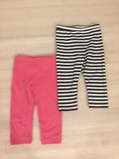 Baby Gap Girls 2 Pairs Of Capri Pants Size 5 Years