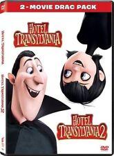 HOTEL TRANSYLVANIA 1 & 2 DVD 2-Movie Drac Pack New & Sealed USA Free Shipping