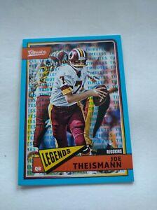 JOE THEISMANN 2016 Classics Timeless Tributes Gold #2/10 Washington Redskins SSP